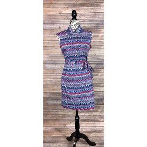 Ellen Tracy dress size 6 paisley Sleeveless cute